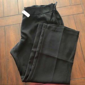 Talbots women's petite side-zip dress pants